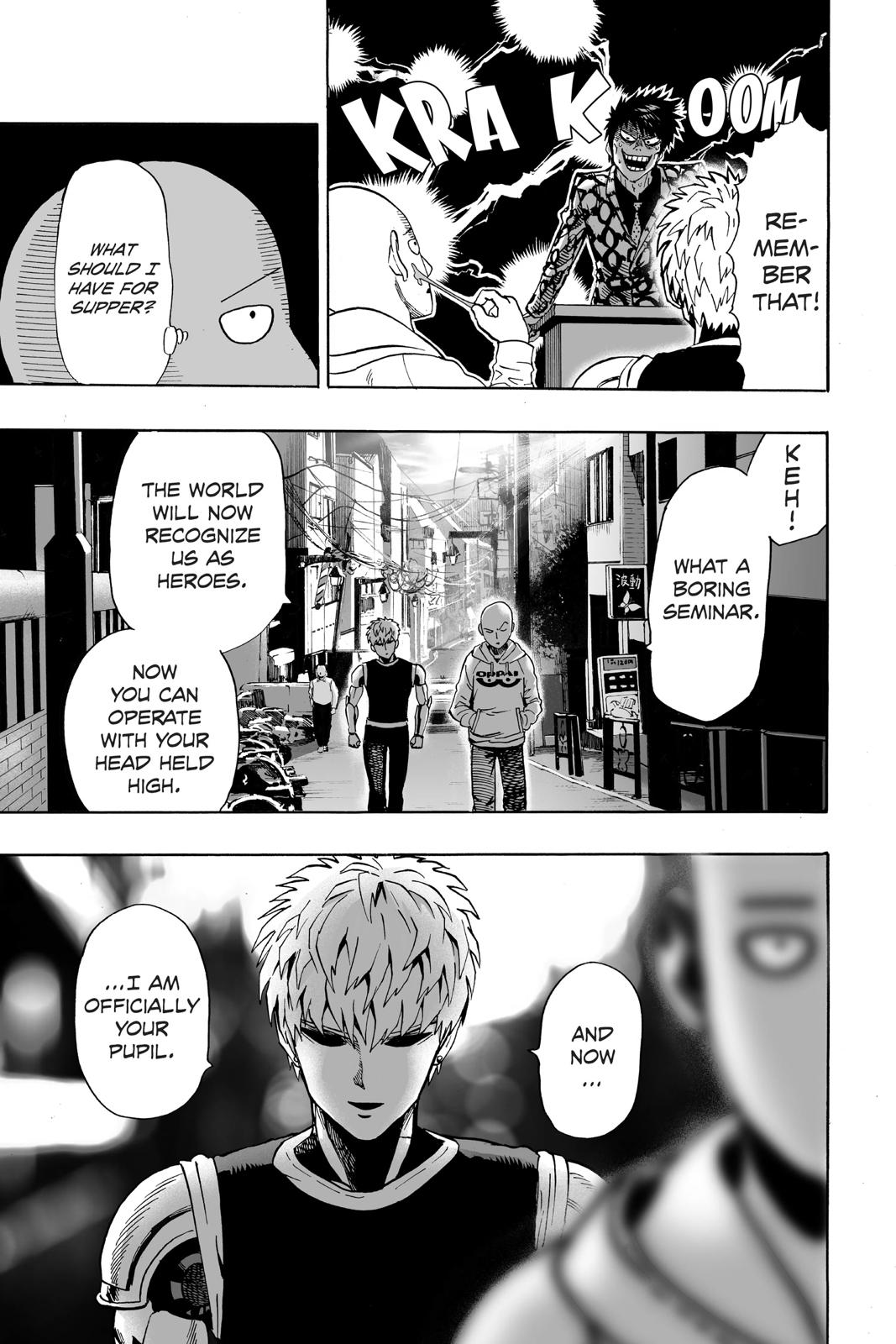 One-Punch Man, Chapter 16 image 020