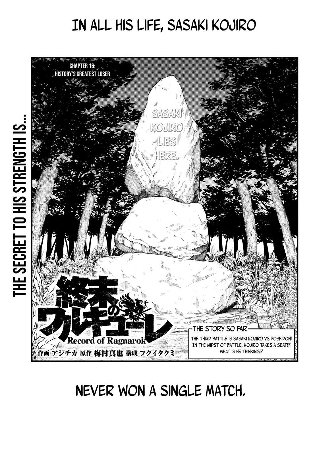 Shuumatsu no Valkyrie, Chapter 16 image 002