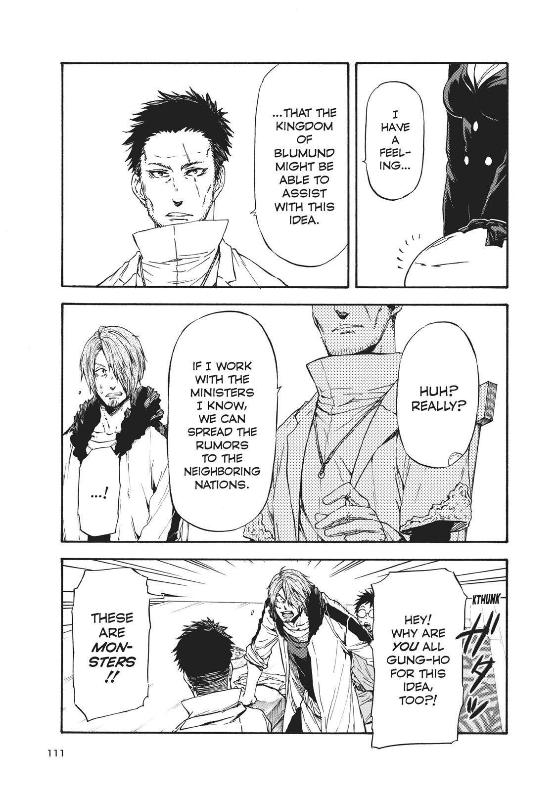 Tensei shitara Slime Datta Ken, Chapter 35 image 003