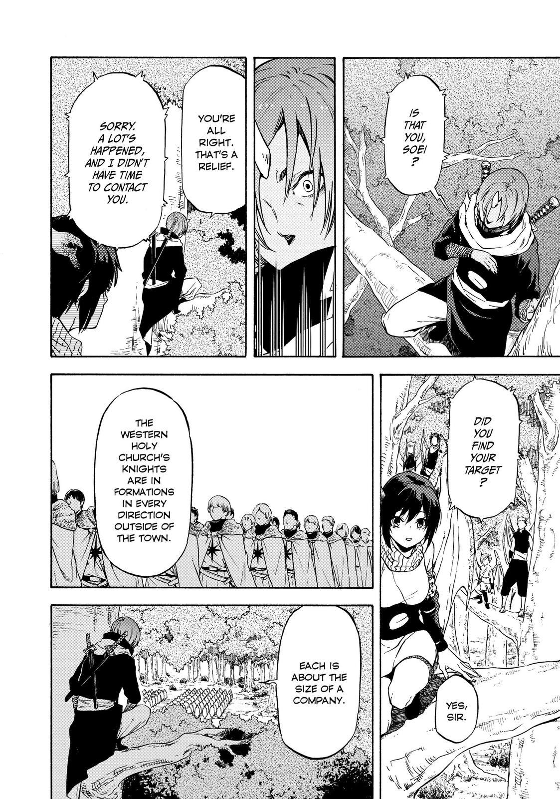 Tensei shitara Slime Datta Ken, Chapter 60 image 002