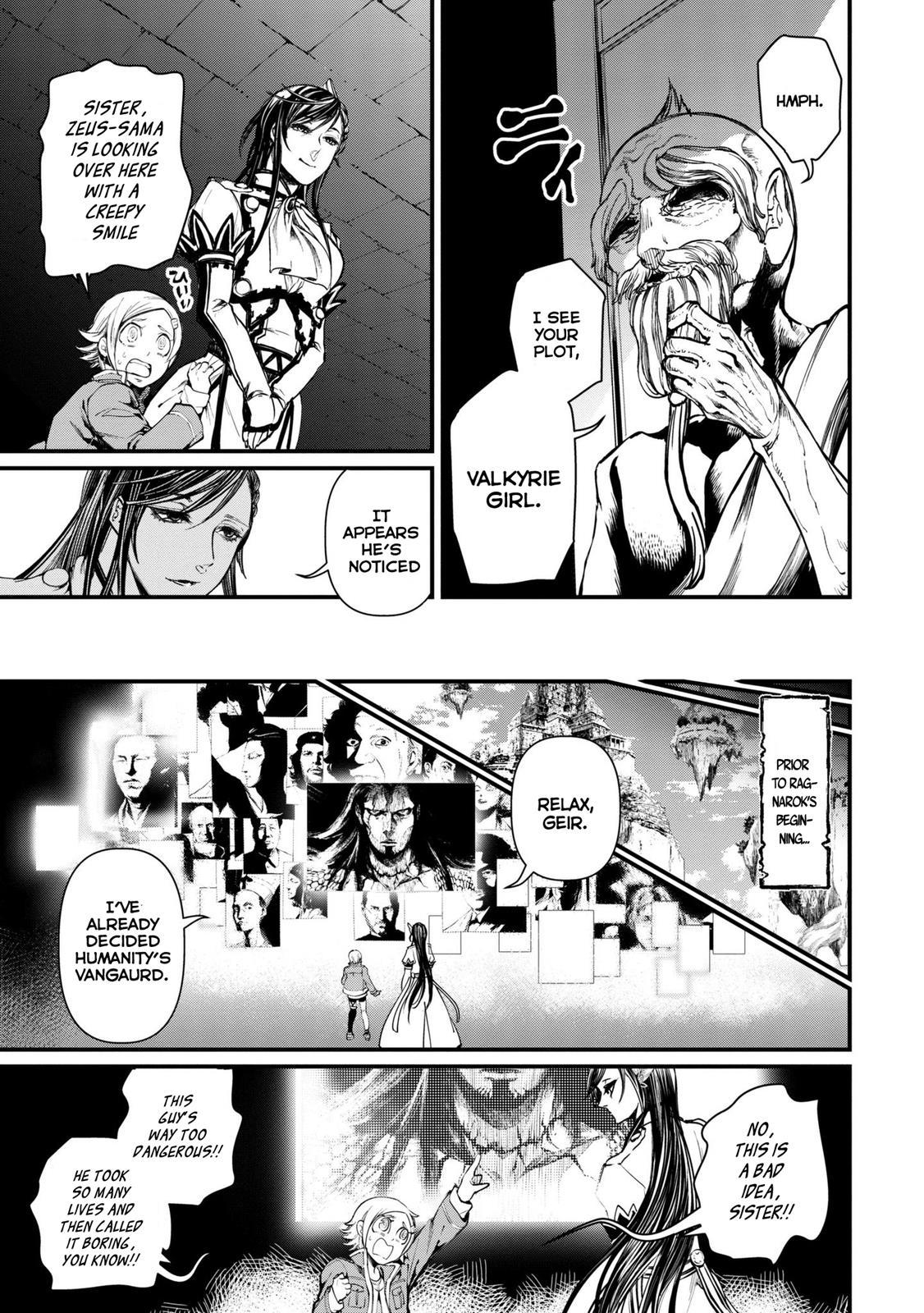 Shuumatsu no Valkyrie, Chapter 3 image 023
