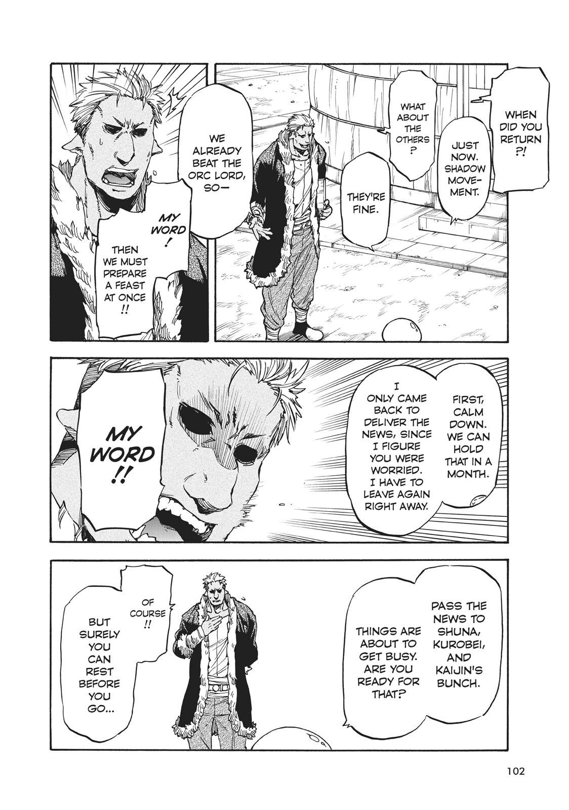 Tensei shitara Slime Datta Ken, Chapter 26 image 002