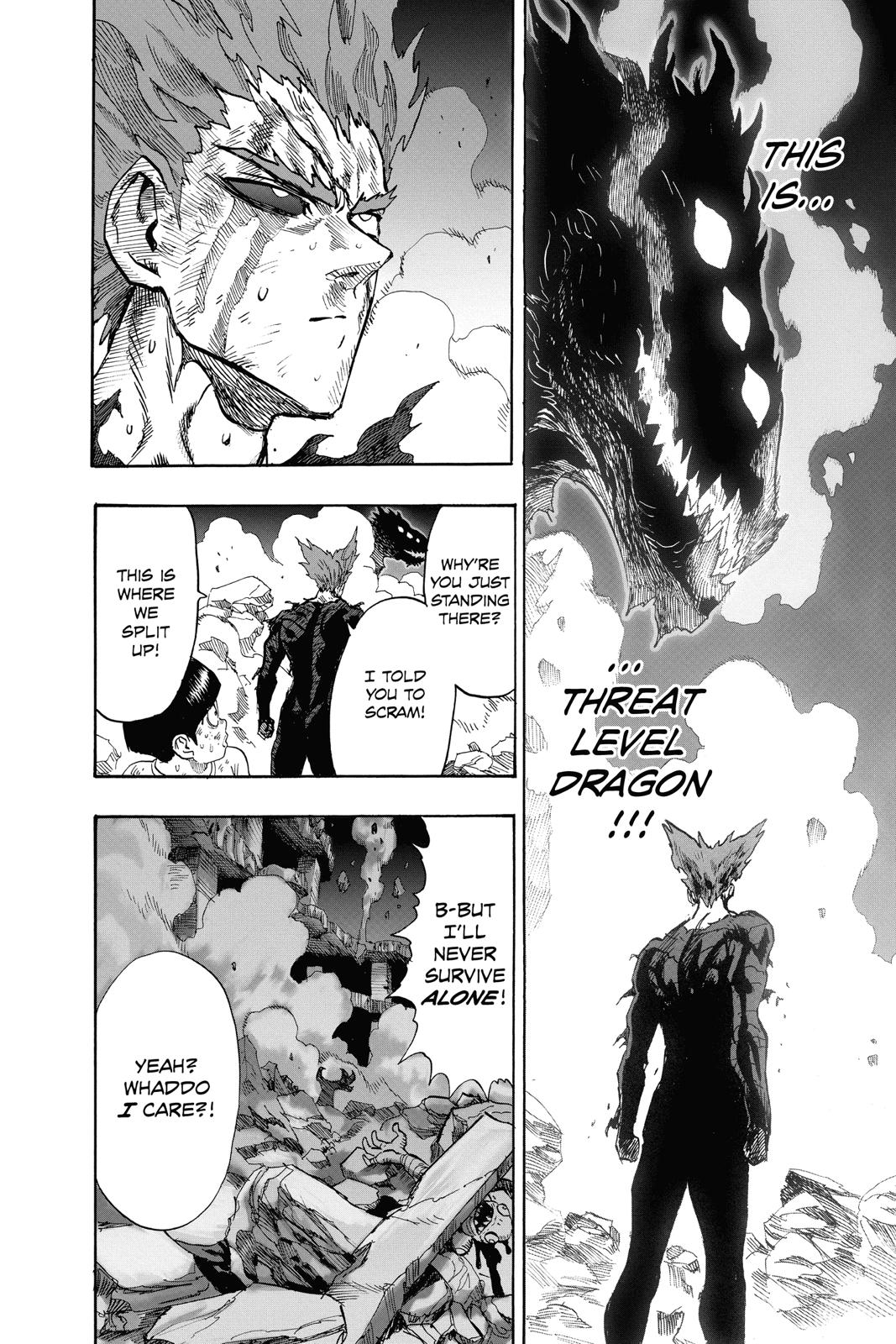 One-Punch Man, Chapter 93 image 033